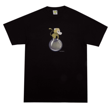 Frog Skateboards Monkey Bubble T-Shirt - Black
