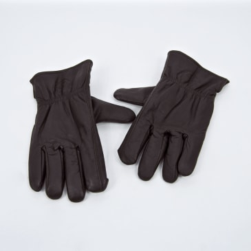 Dickies - Memphis Leather Gloves - Dark Brown