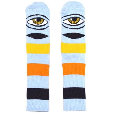 Toy Machine Sect Eye Big Stripe (Baby Blue)
