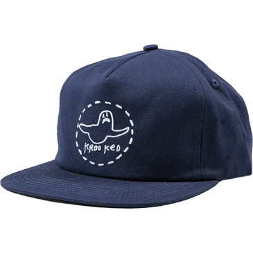 Krooked Trinity Hat (Navy/White)