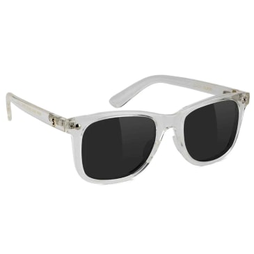 Glassy Mike Mo Glasses - Polarized Clear