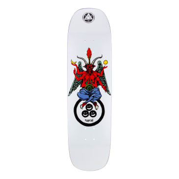 """Welcome Skateboards Ryan Lay Bapholit on Stonecipher Skateboard Deck White - 8.6"""""""