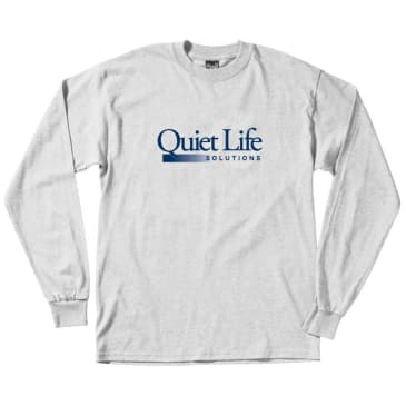 The Quiet Life Solutions Long Sleeve T-Shirt - White