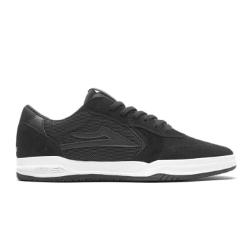 Lakai Atlantic Suede Skate Shoes - Black