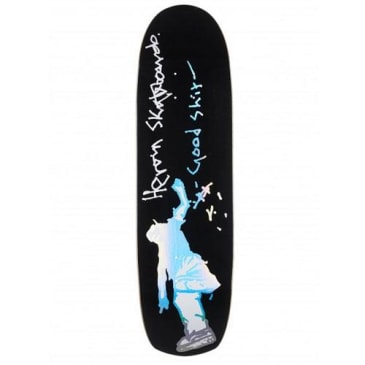 "Heroin Skateboards - 8.7"" Black Summer Good Shit Deck"