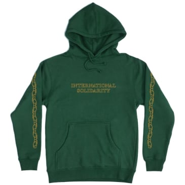 Pass~Port Inter Solid Hoodie - Forest Green