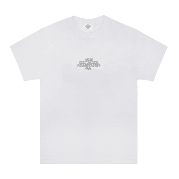 The National Skateboard Co. Classic Logo T-Shirt - White