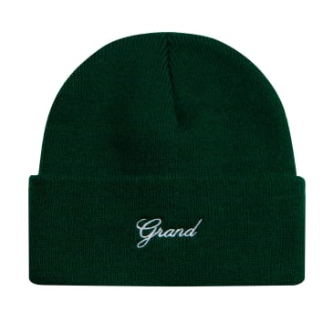 Grand Collection Script Beanie - Forest Green