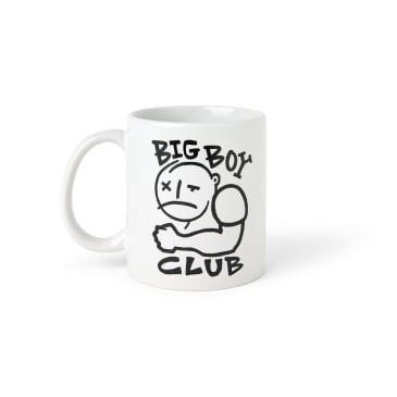 Polar Skate Co Big Boy Club Mug - White / Black