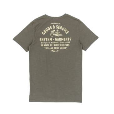 Rhythm Down Under T-Shirt - Olive