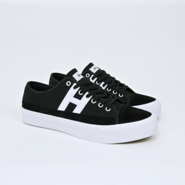 Huf - Hupper 2 Lo Shoes - Black / White