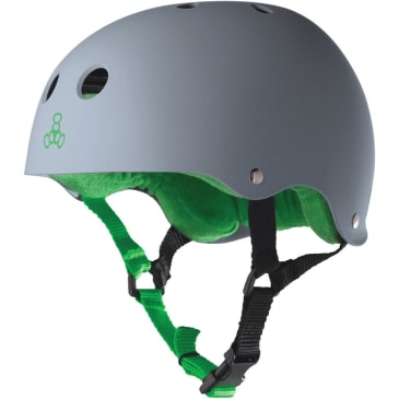 Triple Eight Sweatsaver Helmet (Carbon Rubber)