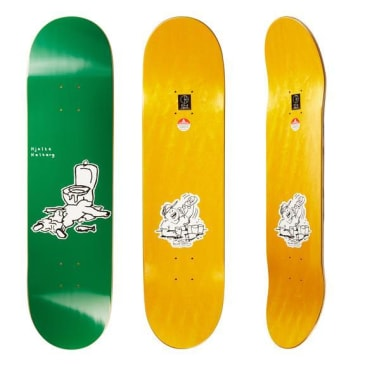 "Polar Skate Co ""Hjalte Halberg - After Work"" (green) Skateboard Deck 8.125"""