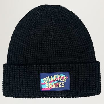 Quarter Snack Waffle Beanies (Assorted Colors)