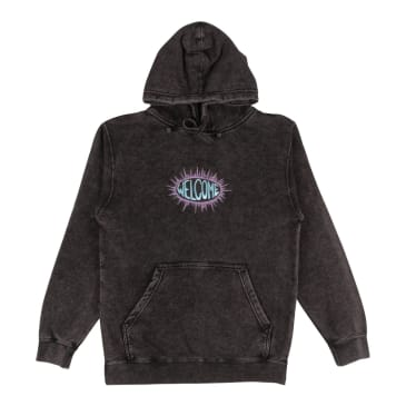 Welcome Burst Mineral Wash Pullover Hoodie