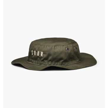 SOUR CITY SAFARI HAT - OLIVE