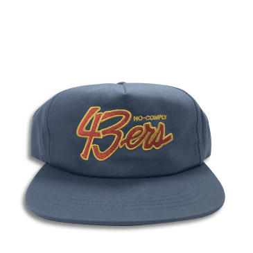 No-Comply 43ers Snap Back Hat Navy