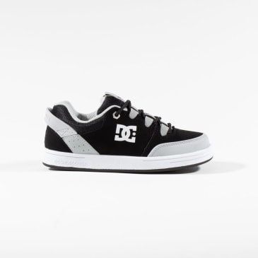 DC Syntax Youth Skate Shoes - Black / White / Armor