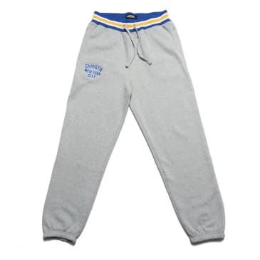 Chrystie NYC - Varsity logo sweatpants_Ash Grey