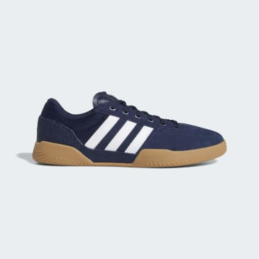 Adidas City Cup Shoes - Collegiate Navy/FTWR White/Gum 4