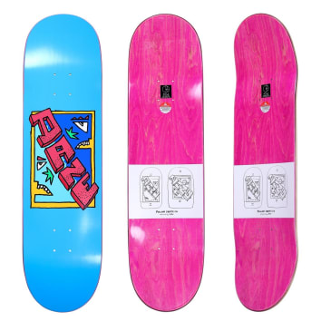 Polar Dane Brady Cake Face Skateboard Deck Blue - 8.5""