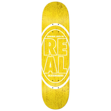 Real Stacked Oval Floral PricePoint Deck 7.56