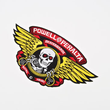 Powell Peralta - 12 Inch Winged Ripper Patch