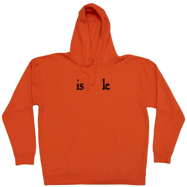 Isle Skateboards Les Mis Hoodie - Safety Orange