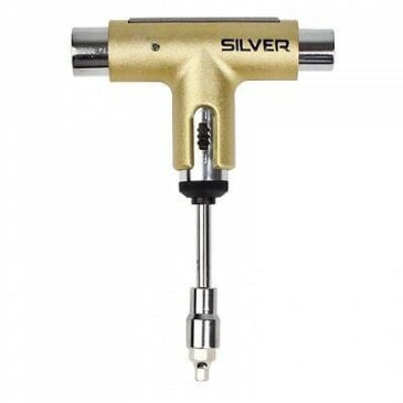 Silver Skate Tool (assorted colours)