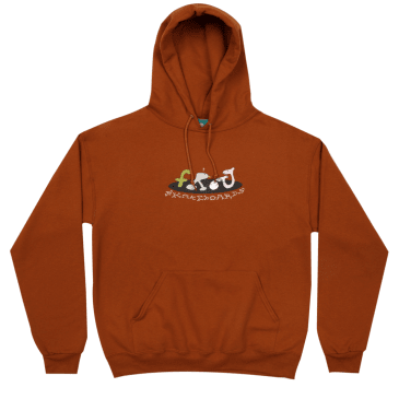 FROG SKATEBOARDS EGG BREAKER HOODIE - BURNT ORANGE