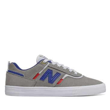 New Balance Numeric 306 Skate Shoe - Grey / Blue