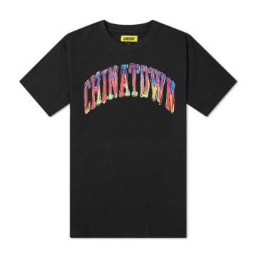 Chinatown Market Watercolor Arc T-Shirt (Black)