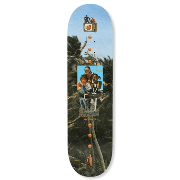 WKND - Gillette Collage Skateboard Deck - 8.25""