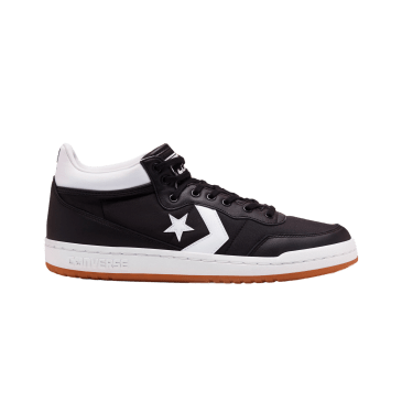 Converse Cons OG Block Fastbreak Pro Skateboarding Shoes - Black/White/Gum
