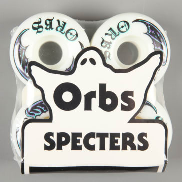 Orbs 'Specters Whites' 52mm 99A Wheels (White)