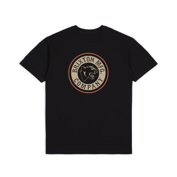 BRIXTON Forte Tee Black/Ginger