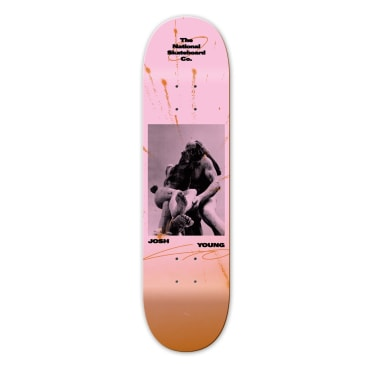 """The National Skateboard Co. - 8.375"""" Jardin Des Tuileries Joshua Young Deck"""