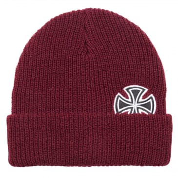 Independent - Solo Cross Beanie - Oxblood