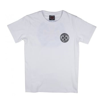 Independent Colours Youth Kids T-Shirt (White)