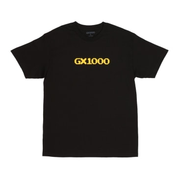 GX1000 OG Logo T-Shirt - Black/Yellow