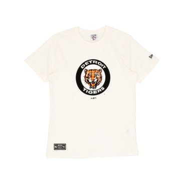 New Era Cooperstown Detroit Tigers T-Shirt - Off White