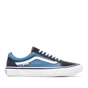 Vans Old Skool Pro Skate Shoes - Navy / Blue