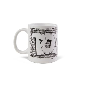 Polar Skate Co Straight From The Hood Mug - White / Black