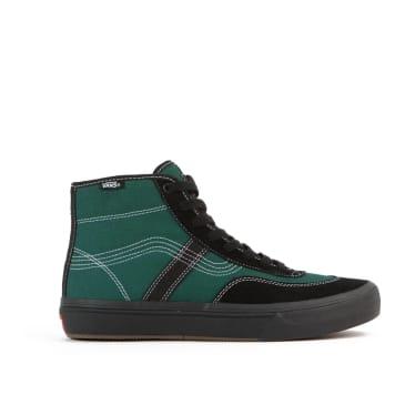 Vans x Quasi Gilbert Crockett High Pro LTD Skate Shoes - Antique Green / Black