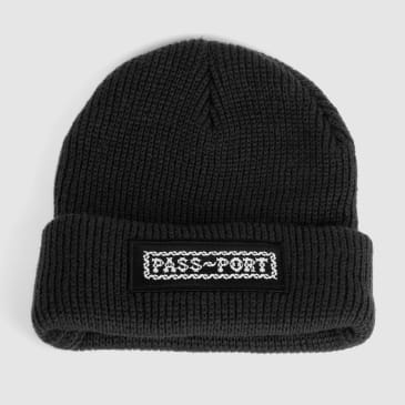 Pass~Port Barbs Beanie - Black