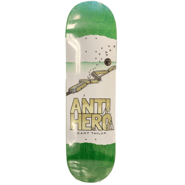 Antihero Grant Taylor Expressions Skateboard Deck - 8.38""