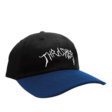 Thrasher Lotties Embroidered Old Timer Hat - Black/Navy