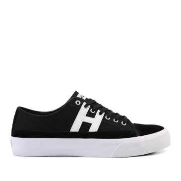 HUF Hupper 2 Lo Skate Shoes - Black / White