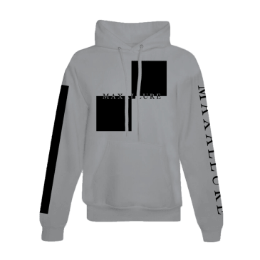 Maxallure Gray Lets Go Hoodie