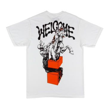 Welcome Skateboards Hierophant T-Shirt - White